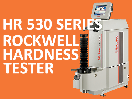 HR 530 Rockwell Hardness tester Image website new product smaller 2
